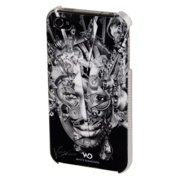 Футляр Hama The Mechanist Black (для iPhone4/4S, украшен кристаллами Swarowski, White Diamonds, H-108503)