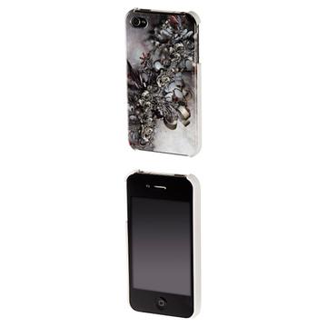 Футляр Hama Mechanic Grey (для iPhone4, доступ ко всем кнопкам, 3D рисунок, пластик, H-108505)