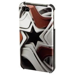 Футляр Hama Star Red (для iPhone4, доступ ко всем кнопкам, 3D рисунок, пластик, H-108506)