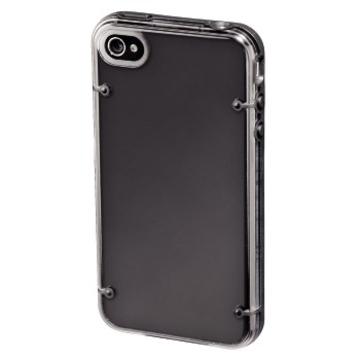 Футляр Hama Dual Transparent (для iPhone 4, доступ ко всем кнопкам, пластик, H-108511)
