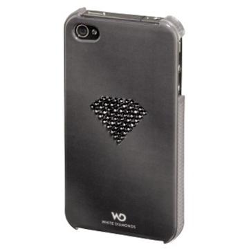Футляр Hama Rainbow Black (для iPhone4/4S, украшен кристаллами Swarowski, White Diamonds, пластик, H-108519)