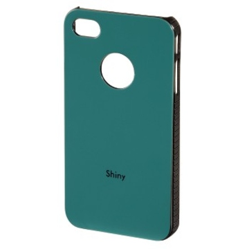 Футляр Hama Shiny Green (для iPhone 4/4S, пластик, H-108547)