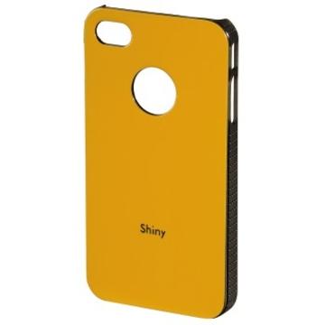 Футляр Hama Shiny Orange (для iPhone 4/4S, пластик, H-108548)
