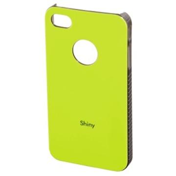 Футляр Hama Shiny Yellow (для iPhone 4/4S, пластик, H-108552)