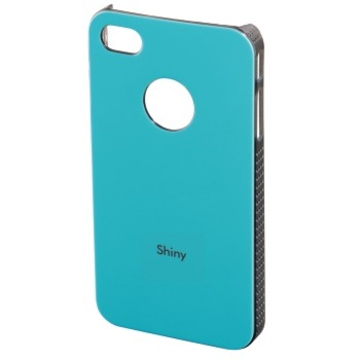 Футляр Hama Shiny Turquoise (для iPhone 4/4S, пластик, H-108553)