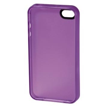 Футляр Hama TPU Purple (для iPhone 4/4S, силикон, H-108555)