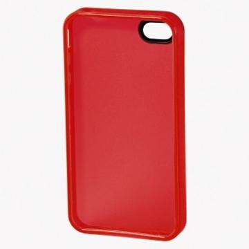 Футляр Hama TPU Red (для iPhone 4/4S, силикон, H-108557)