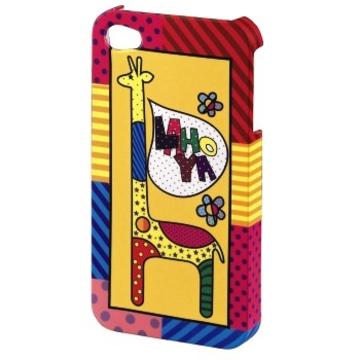 Футляр Hama Lahoya Giraffe (для iPhone4/4S, жираф, H-108584)