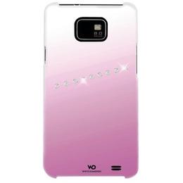 Футляр Hama Sash Pink (для Samsung i9100 Galaxy S II, украшен кристаллами Swarowski, White Diamonds, пластик, H-108682)