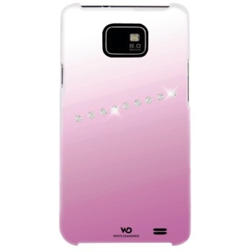 Футляр Hama Sash Pink (для Samsung i9100 Galaxy S II, украшен кристаллами Swarowski, White Diamonds, пластик, H-108682)