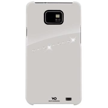 Футляр Hama Sash White (для Samsung i9100 Galaxy S II, украшен кристаллами Swarowski, White Diamonds, пластик, H-108684)