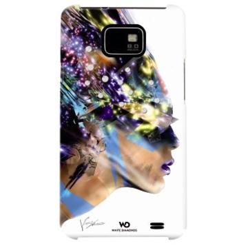 Футляр Hama Nafrotiti White (для Samsung I9100 Galaxy S II, украшен кристаллами Swarowski, White Diamonds, пластик, H-108687)