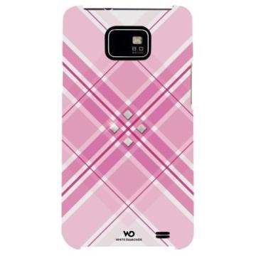 Футляр Hama Grip Pink (для Samsung i9100 Galaxy S II, украшен кристаллами Swarowski, White Diamonds, пластик, H-108688)