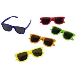 Очки 3D Hama Polarized Party set Red/Yellow/Orange/Green/Blue (пластик, 135°/45°, 5шт. в комплекте)