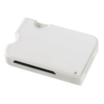 Ридер USB3.0 Hama 3in1 White (USB3.0, для всех стандартов карт памяти, H-114951)