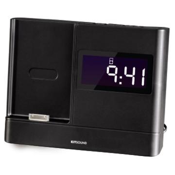 Докстанция Hama Xdock Black (радио/будильник/моно-динамик, для iPhone 4/4S, H-115003)