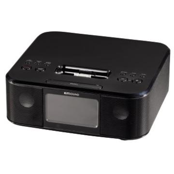 Докстанция Hama Boom Clock Black (радио/будильник/сабвуфер, для iPhone 4/4S, H-115004)