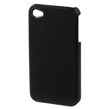 Футляр Hama Air Plus Black (для iPhone4/4S, конструктивный доступ ко всем кнопкам, пластик, H-115331)