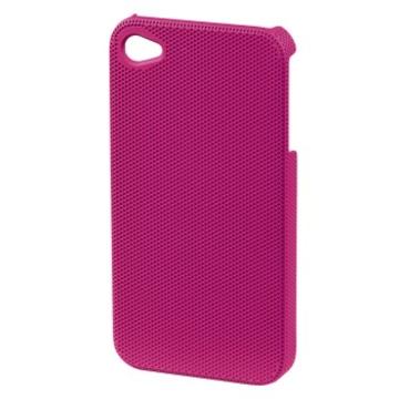 Футляр Hama Air Plus Pink (для iPhone4/4S, конструктивный доступ ко всем кнопкам, пластик, H-115333)