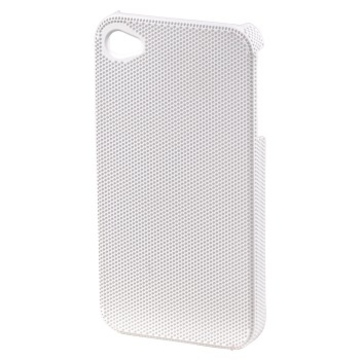 Футляр Hama Air Plus White (для iPhone4/4S, конструктивный доступ ко всем кнопкам, пластик, H-115334)