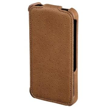 Чехол Hama Parma Brown (для iPhone 4/4S, искусственная кожа, H-115348)