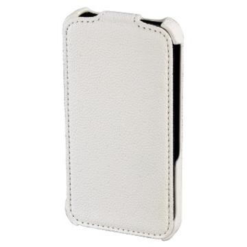 Чехол Hama Parma White (для iPhone 4/4S, искусственная кожа, H-115353)