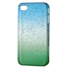 Футляр Hama Drop Blue Green (для iPhone 4/4S, доступ ко всем кнопкам, пластик, H-115357)