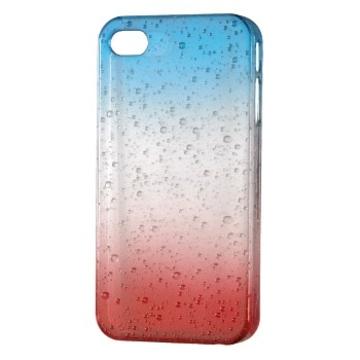 Футляр Hama Drop Blue Red (для iPhone 4/4S, доступ ко всем кнопкам, пластик, H-115359)