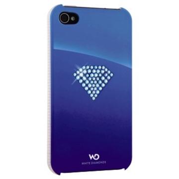 Футляр Hama Rainbow Blue (для iPhone 4/4S, украшен кристаллами Swarowski, White Diamonds, H-115384)