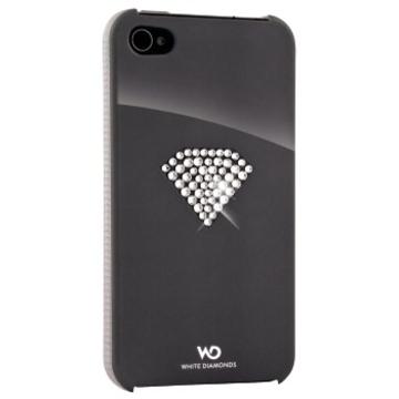 Футляр Hama Rainbow Silver (для iPhone 4/4S, украшен кристаллами Swarowski, White Diamonds, H-115385)