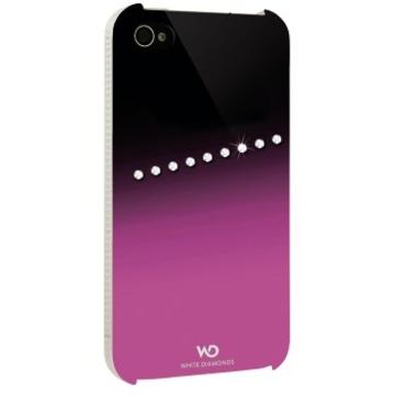 Футляр Hama Sash Pink (для iPhone 4/4S, украшен кристаллами Swarowski, White Diamonds, пластик, H-115391)