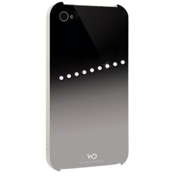 Футляр Hama Sash Silver (для iPhone 4/4S, украшен кристаллами Swarowski, White Diamonds, пластик, H-115393)