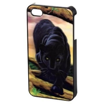 Футляр Hama Puma 3D Black (для iPhone4/4S, пластик, H-118740)