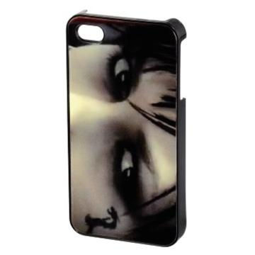 Футляр Hama Eyes 3D Grey (для iPhone4/4S, пластик, H-118743)