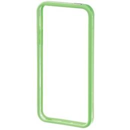 Бампер Hama Edge Protector Green Transparent (для iPhone 5, пластик, доступ ко всем кнопкам, H-118817)
