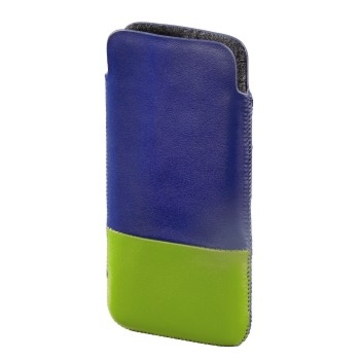 Чехол Hama Domino Blue Green (для iPhone 5, кожа, H-118819)