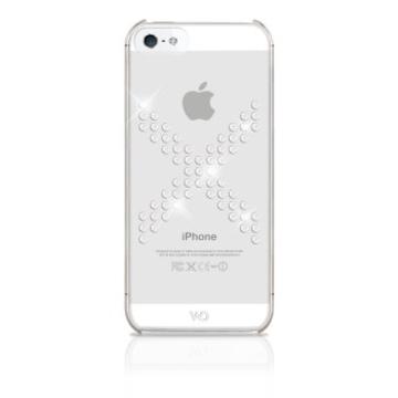 Футляр White Diamonds X Series White (для iPhone 5, украшен кристаллами Swarowski, пластик, H-118833)