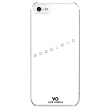 Футляр White Diamonds Sash White (для iPhone 5, украшен кристаллами Swarowski, пластик, H-118839)