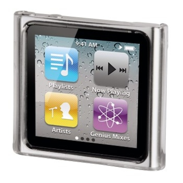 Футляр Hama Crystal Case (для iPod nano 6G, пластик, прозрачный, H-13274)