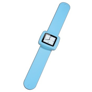 Ремешок-часы Hama Fancy Beat Blue (для iPod Nano 6G, силикон, H-13301)
