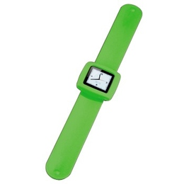 Ремешок-часы Hama Fancy Beat Green (для iPod Nano 6G, силикон, H-13302)