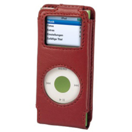 Чехол Hama Red (для iPod Nano 2G, натуральная кожа)