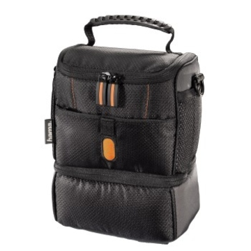 Сумка Hama Sorento 100 Duo Black Orange (14.5x7.5x10.5см)