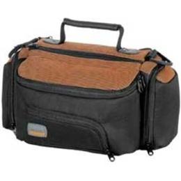 Сумка для фотоаппаратов Hama Auskland DV90 Black Orange (23.5x14x10.5см, текстиль)