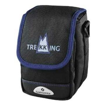 Чехол для фотоаппарата Hama Trekking 180 Black Blue (для фото-видео, 14.5x9x20.5см )