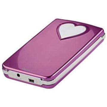 "Корпус для HDD Hama Pink (2.5"", SATA, USB2.0, Pink-Heart, аллюминий)"