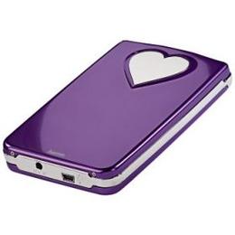"Корпус для HDD Hama Purple (2.5"", SATA, USB2.0, Purple-Heart, аллюминий)"