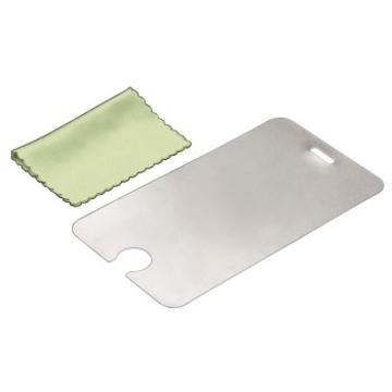 Пленка защитная Hama Mirror (для iPod touch 4G, 3 шт. + салфетка из микрофибры, зеркальная, H-86159)