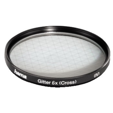 Фильтр Hama Special Effect 6x 55mm (сетчатый, эффект 6 лучей света, H-87255)
