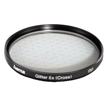 Фильтр Hama Special Effect 6x 62mm (сетчатый, эффект 6 лучей света, H-87262)
